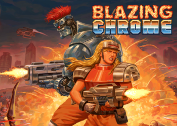 Illustration of BLAZING CHROME (Temp Title)