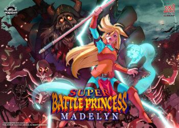 Illustration of SUPER BATTLE PRINCESS MADELYN