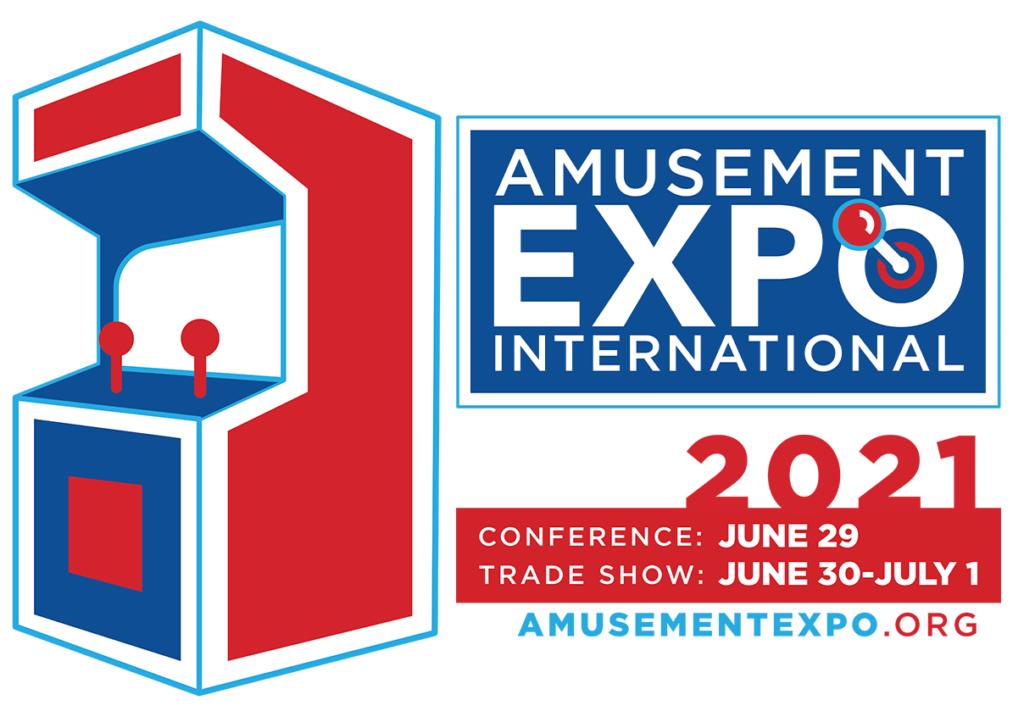 exA-Arcadia Exhibits at Amusement Expo International 2021